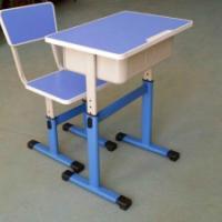 供应单人学生课桌椅套装
