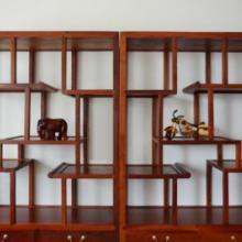 供应缅甸花梨红木书柜书架博古架展示柜/明式书房家具批发