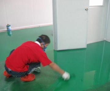 供应洁美环氧地坪施工环氧树脂地坪图片