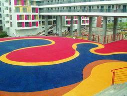 供应杭州纹理防滑地坪,纹理防滑地坪施工图片