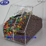 供应亚克力糖果展示架 有机玻璃糖果盒 压克力干货陈列盒