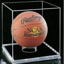 供应亚克力篮球展示盒 压克力透明足球罩 有机玻璃网球展示架