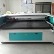 地毯150w大功率激光切割裁床图片