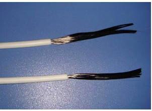 供应24K硅胶碳纤维发热线