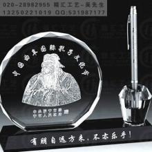 供应孔子文化节纪念品,地方文化节礼品定做,水晶办公礼品摆件,纪念品