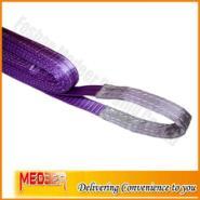 1吨紫色扁平吊带图片