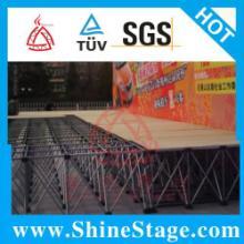 供应铝合金拉网舞台,江苏铝合金折叠舞台厂家图片