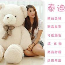 供应泰迪熊抱枕公仔毛绒玩具