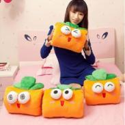 保卫萝卜毛绒蔬菜抱枕手捂玩偶图片