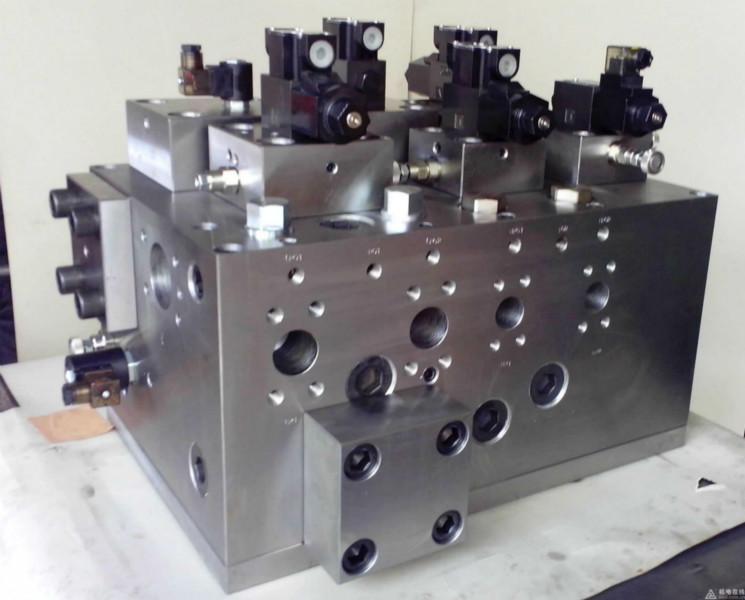 供应液压油路板(锻造)图片
