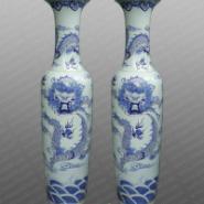 正德陶瓷专来生产青花蟠龙图片