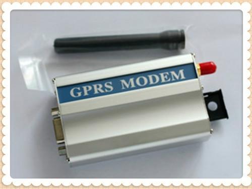 供应单口GSM调制解调器 9针串口内置MC75 芯片