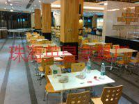 供应肯德鸡餐桌/麦当劳餐桌椅厂家/曲木