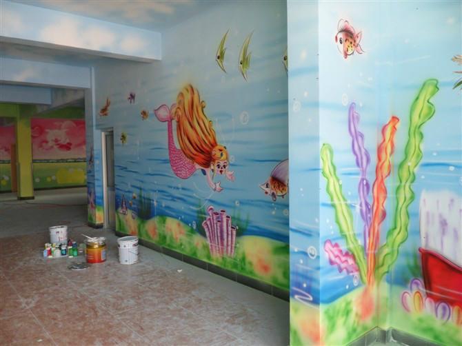 幼儿园走廊墙壁设计 幼儿园走廊墙壁画 幼儿园走廊墙壁设计