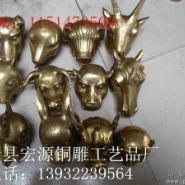 动物雕塑铜雕麒麟铜马铜牛铜貔貅图片