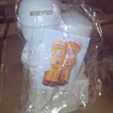 供应摔不烂玩具存钱罐彩绘儿童彩绘玩具批发