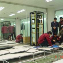 供应监控机房改造网络机柜机房配线图片