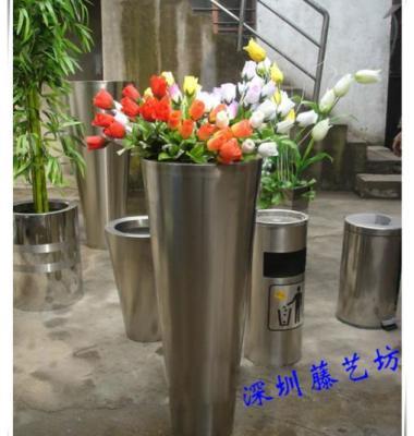 不锈钢花盆图片/不锈钢花盆样板图 (4)