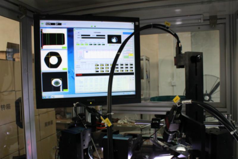 供应电子螺丝视觉检测机 微螺丝全自动CCD检测