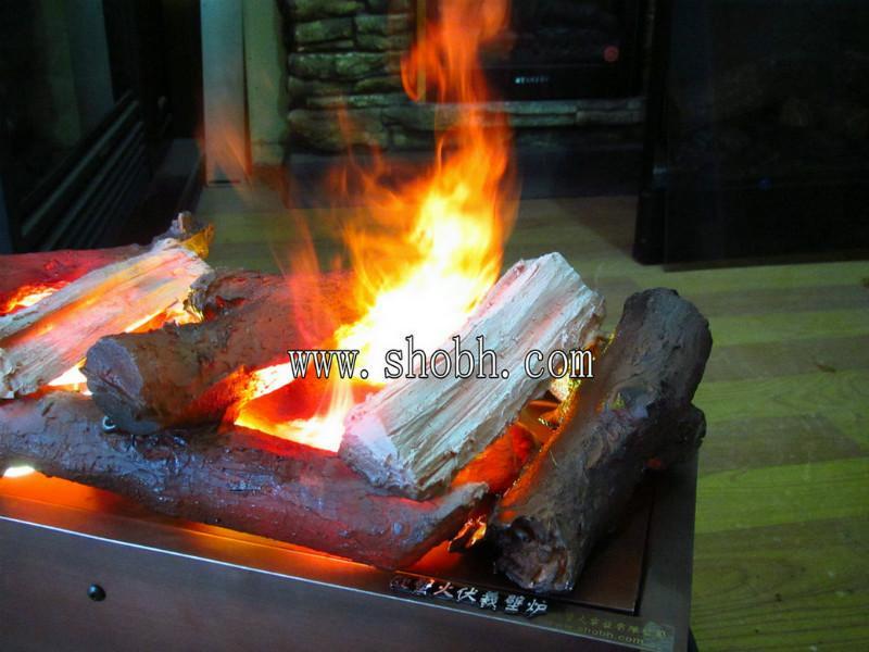 供应3d壁炉_电壁炉_壁炉_大堂篝火_三维立体壁炉火焰