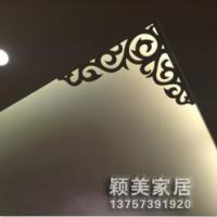 供应PVC雕花板/镂空板/通花板/角花