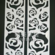 PVC雕花板/镂空板/隔断背景墙图片