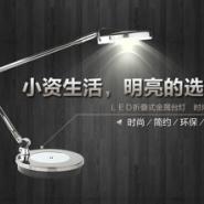 360度旋转金属led折叠台灯图片