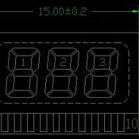 8字段码液晶屏