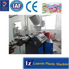 供应透明橡皮筋生产设备55机单色皮筋挤出设备图片