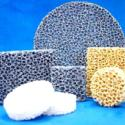 铸铁用泡沫陶瓷过滤网图片