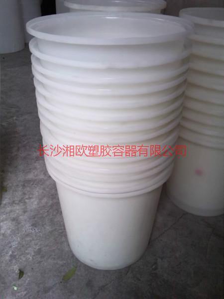 供应湖南邵阳PE圆桶耐高温食品桶厂家/腌制桶公司地址