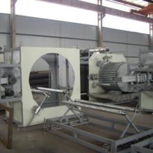 供应新一代大口径排水管道生产线 乐力友 HDPE中空壁缠绕管挤出机器图片