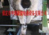 供应可控硅小型中频炉化钢铁实验专用保定中清电炉厂家