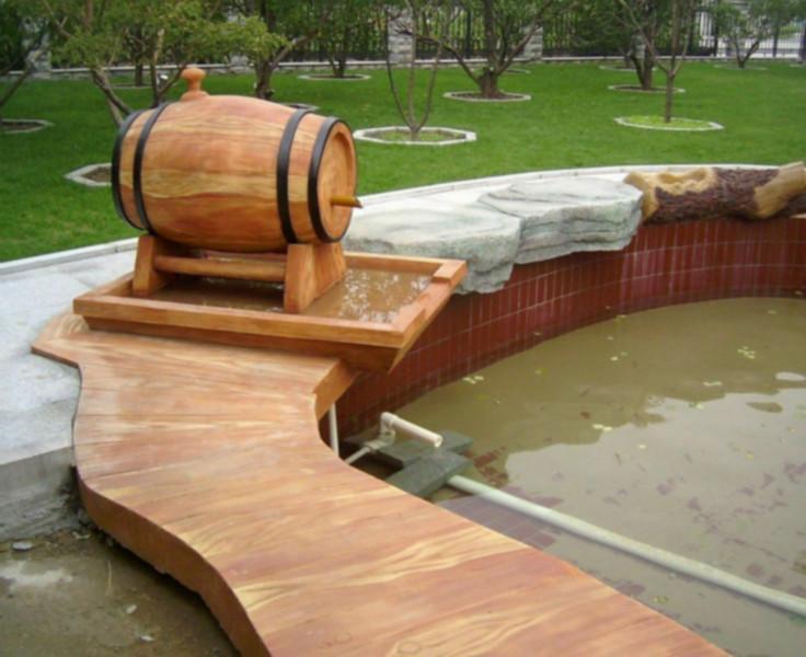 供应防腐木地板的种类