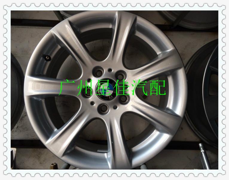 供应宝马7系新款19寸钢圈7柱轮毂改装,广州宝马轮毂盖拆车件