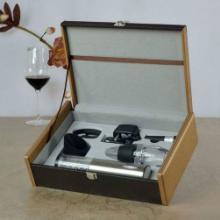 供应不锈钢电动+醒酒器高档6件套厂价直销红酒酒具套装批发