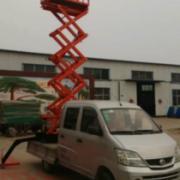车载移动剪叉升降机升降平台升6米