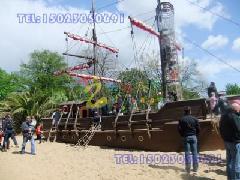 供应城口县海盗船/九龙坡区海盗船/重庆新型儿童游乐大型木质海盗船