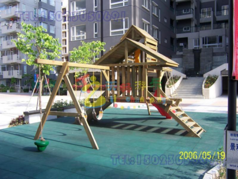大型防腐木质玩具销售