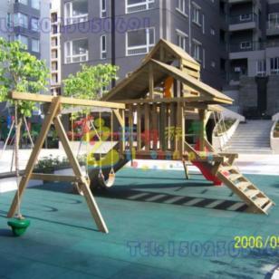 重庆大渡口木质攀爬玩具图片