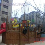 重庆景观木质海盗船图片