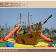 重庆双桥儿童户外运动海盗船图片
