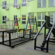 重庆儿童公园大型木质玩具海盗船图片
