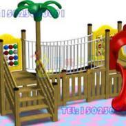 万盛区木质绳网组合玩具图片