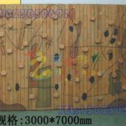大渡口区木质攀岩墙图片