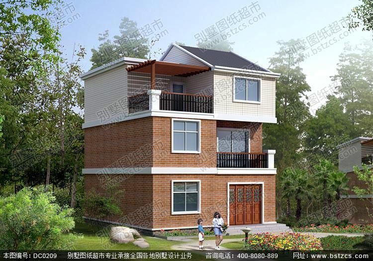 设计图纸全套施工图二层自建房设计图二层房屋图片