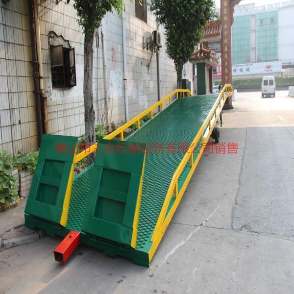 供应黄江移动式登车桥订购,找佛山三良机械现货提供