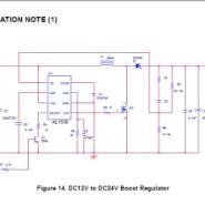 8v-24v输出12v3A电源ic/12v升19v图片