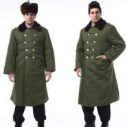 冬季防寒棉大衣图片