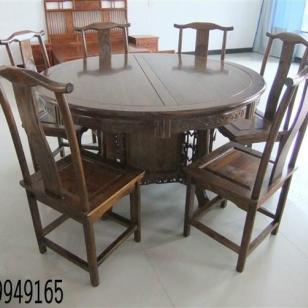 古典家具实木餐桌图片